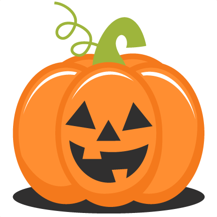 432x432 Cute Halloween Pumpkin Clip Art