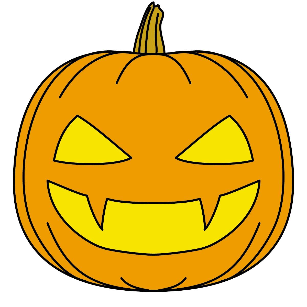 Cute Halloween Pumpkin Clipart   Free download on ClipArtMag