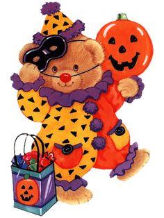 236x314 Halloween, Cute Witch, Ghost And Pumpkins, Clip Art Clip Art
