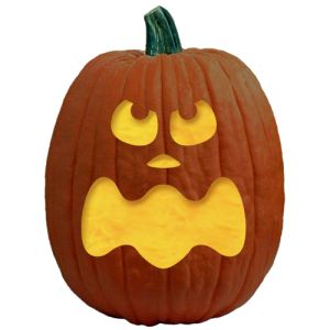 300x300 91 Best Halloween Pumpkin Faces Images Carved