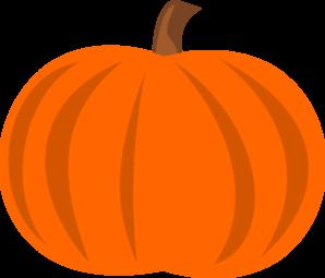 298x255 Cute Pumpkin Clip Art