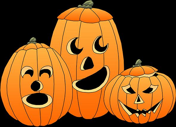 591x429 Halloween Pumpkin Clipart