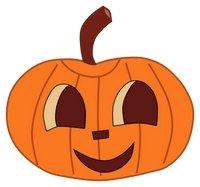 200x187 Cute Pumpkins Schcrows Clipart
