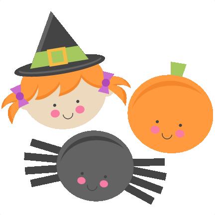 432x432 Cute Halloween Witch Clip Art