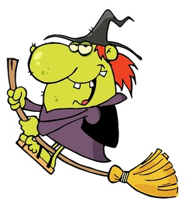 273x300 Witch Clipart Image