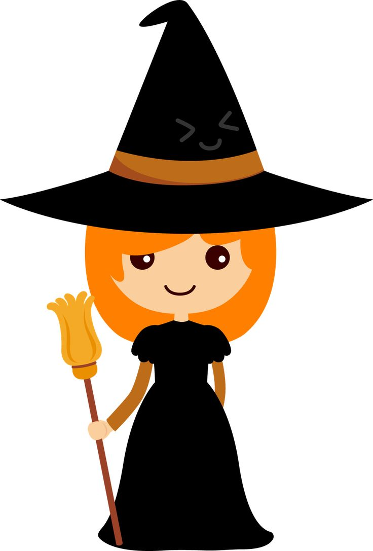 736x1087 Witchcraft Clipart Cute Halloween Monster