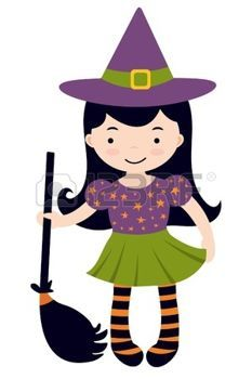 233x350 Witch.quenalbertini Cute Little Witch Halloween Clipart