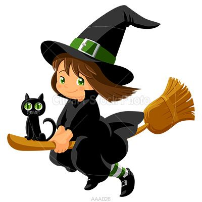 400x400 Cute Halloween Witch Clip Art The Art Mad
