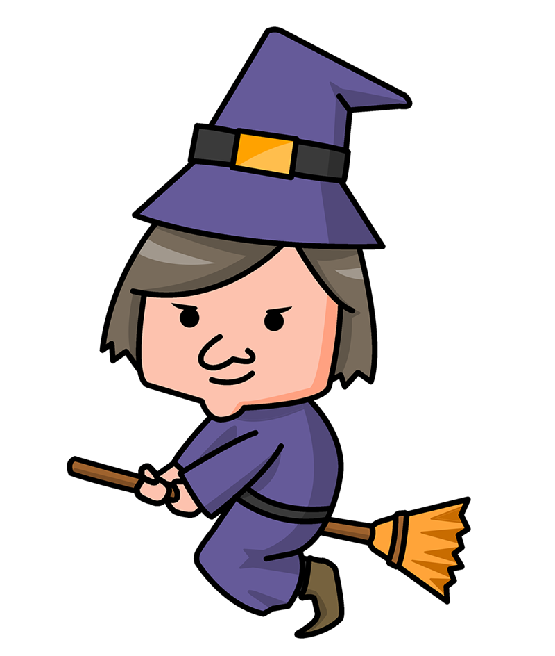 800x944 Cute Halloween Witch Clipart