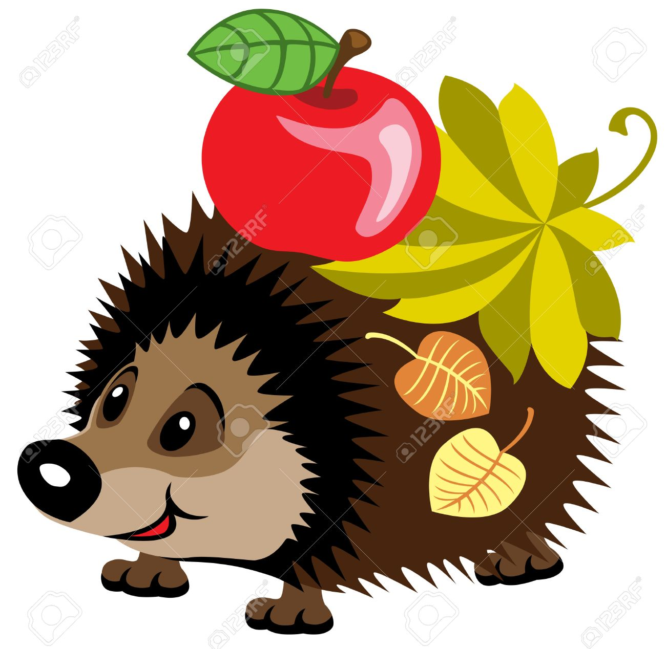 Cute Hedgehog Clipart