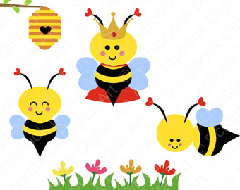 340x270 Colorful Bee Clipart, Explore Pictures