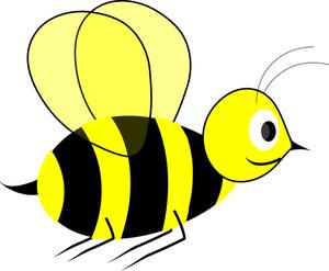 300x247 Animated Bee Clipart Kid