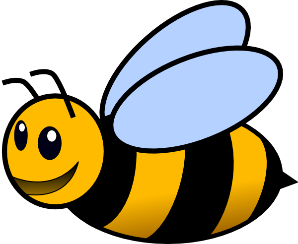 600x492 Bee Clip Art