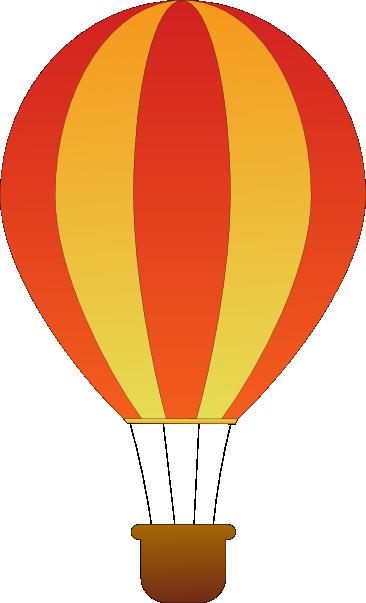 366x603 Drawn Hot Air Balloon Cute