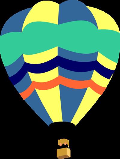 400x530 Hot Air Balloon Clip Art
