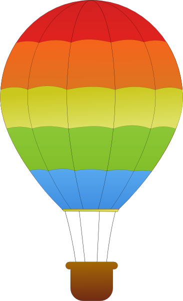 366x602 Hot Air Balloon Images Clip Art Many Interesting Cliparts
