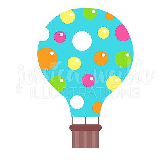 570x570 Hot Air Balloon Clipart Cute
