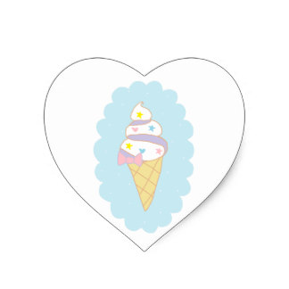324x324 Cute Ice Cream Stickers Zazzle