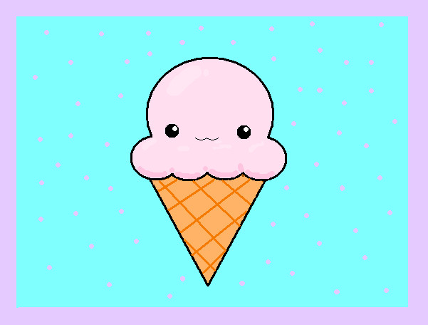 601x456 Cute Icecream by pendoachann on DeviantArt
