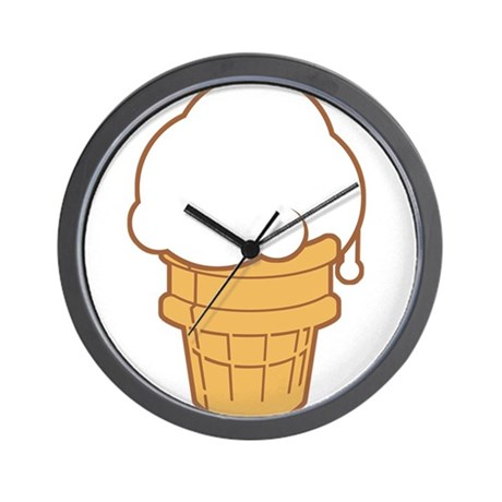 460x460 Ice Cream Clocks Ice Cream Wall Clocks Large, Modern, Kitchen