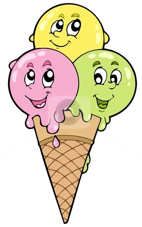 282x450 Cartoon Ice Cream Clipart (80+)