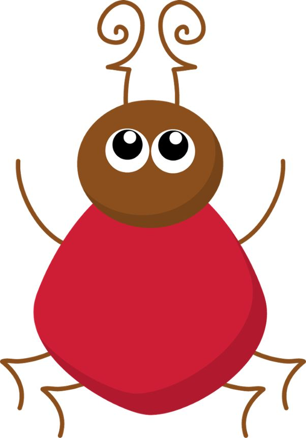 Cute Insects Clipart