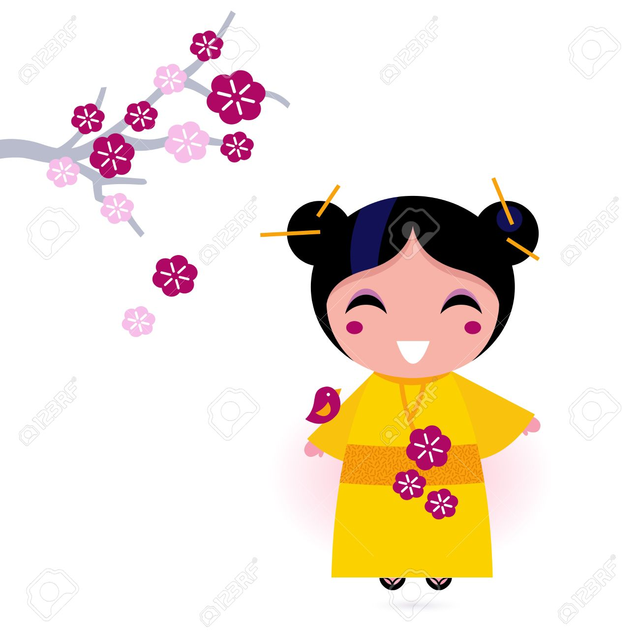 1295x1300 Japanese Clipart Cute Japanese