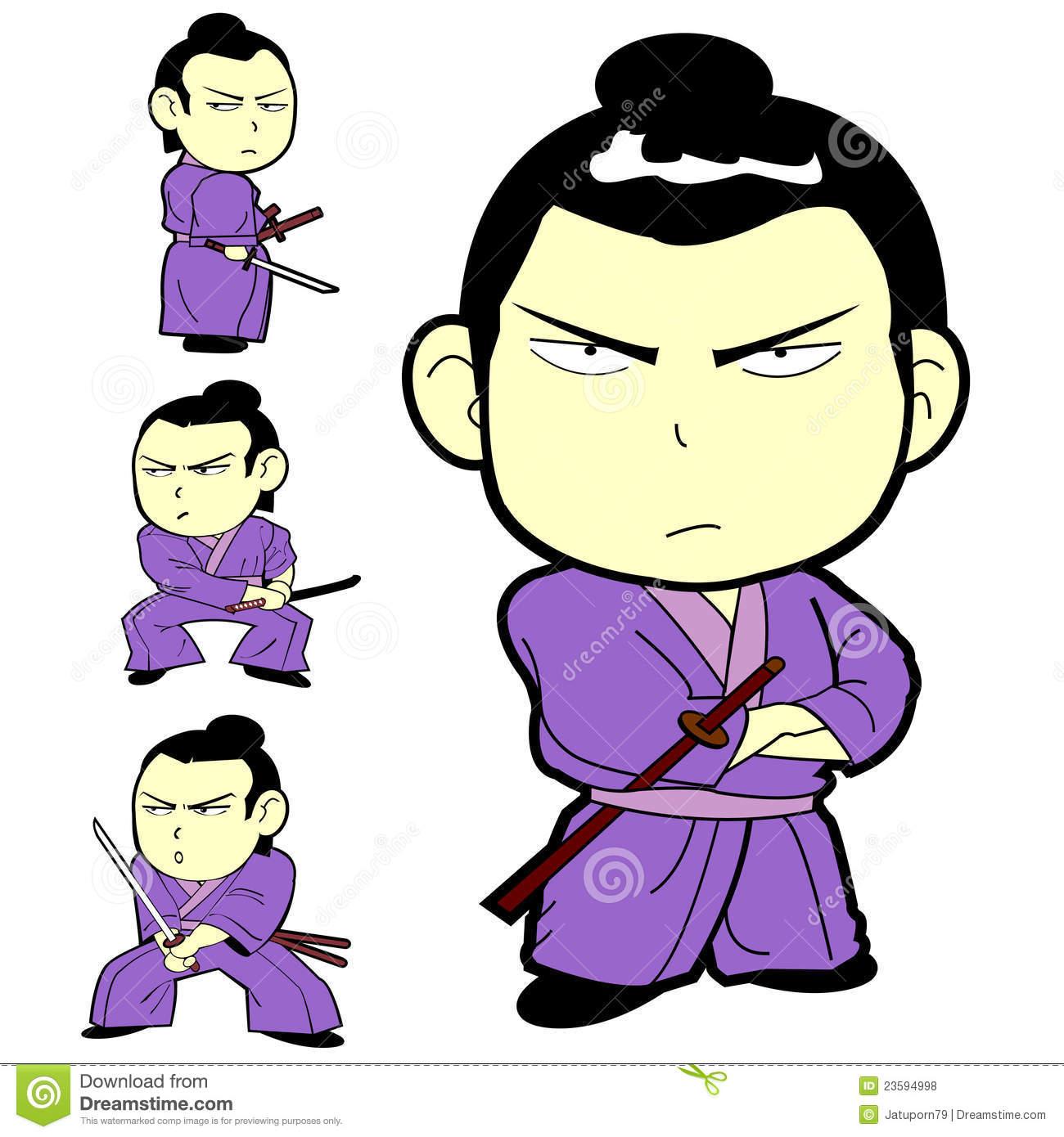1300x1390 Samurai Clipart Cute