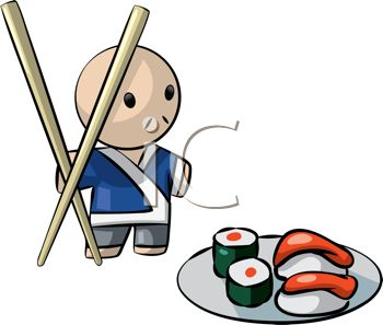 350x297 Sushi Clipart Japanese Cartoon