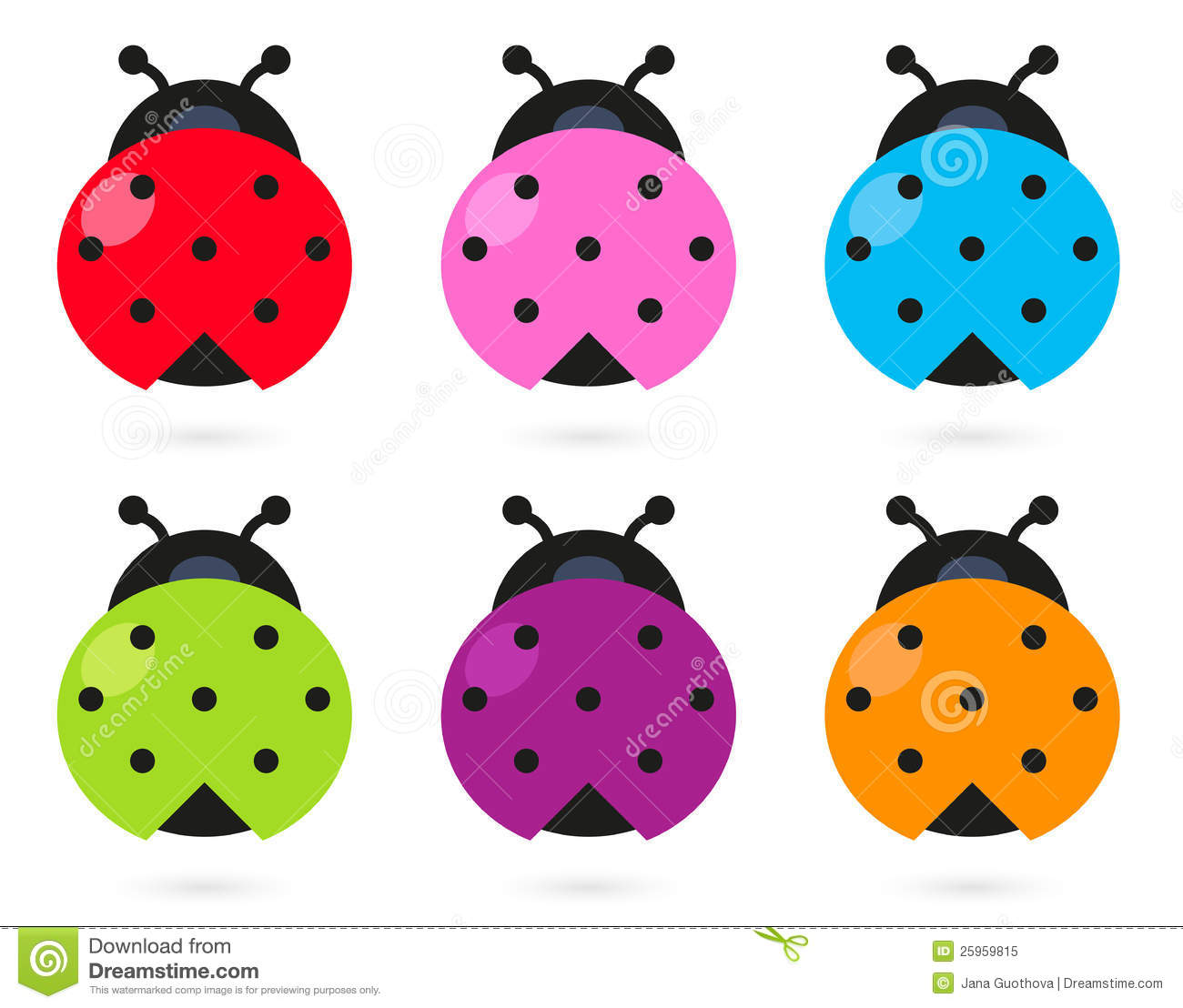 Cute Ladybug Clipart   Free download on ClipArtMag