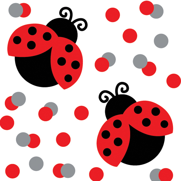 600x600 Cute Ladybug Clipart