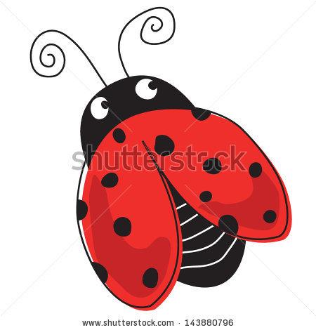 450x470 Cute Ladybug Clipart