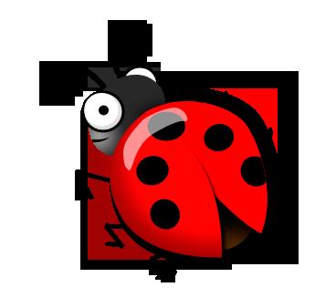 345x338 Ladybug Clipart Draw