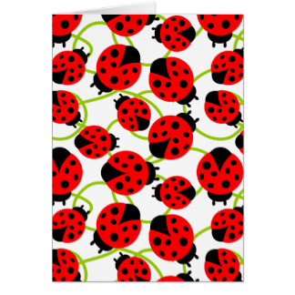 324x324 Cute Ladybug Greeting Cards