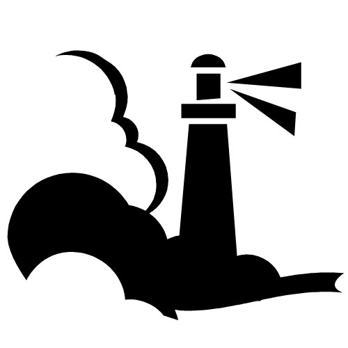 500x500 Lighthouse Clip Art Free Cliparts