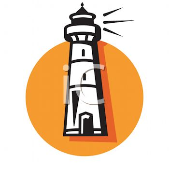 350x350 Lighthouse Clipart Icon