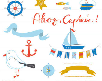 340x270 Nautical Clip Art Nautical Clip Art Cute Bunting Anchor Whale