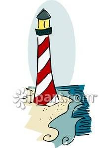225x300 Cartoon Lighthouse