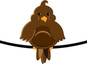 300x220 Free Cartoon Bird Clipart Image 0515 1102 0213 5341
