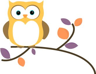 329x256 Owl Clipart Graphic