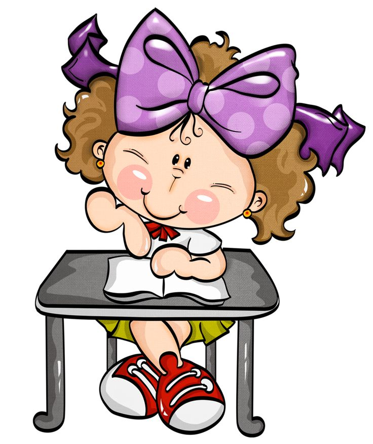 Cute Little Girl Cartoon Images Clipart