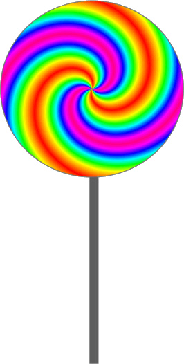 266x526 Candy Clipart Lollipop