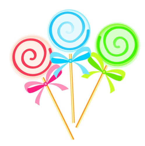 497x500 Clip Art Lollipops And Album