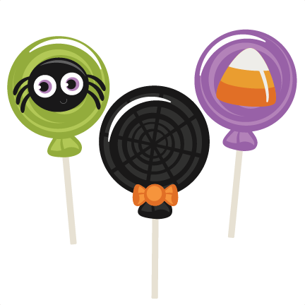 432x432 Halloween Lollipops Svg Scrapbook Title Halloween Svg Cutting
