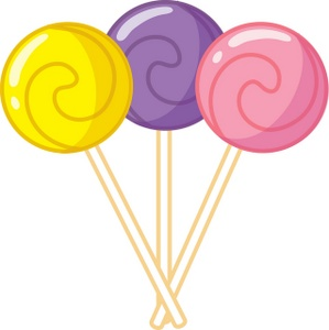 299x300 Lollipop Clipart Cute
