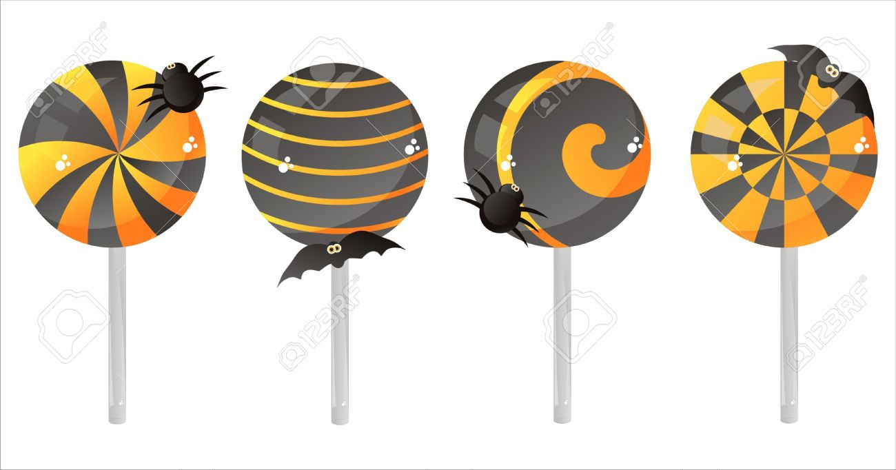 1300x682 Lollipop Clipart Halloween