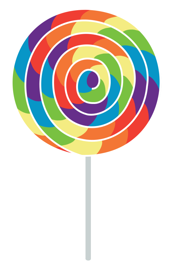 580x898 Lollipop Clipart Transparent Background