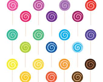 340x270 Swirl Lollipops Etsy
