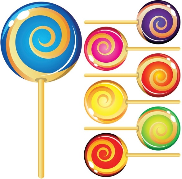 587x580 Vector Lollipop Free Vector Download (76 Free Vector)