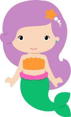 236x388 Mermaid Clipart Graphic